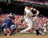 Buster Posey 2012 Action Photo