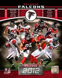 Atlanta Falcons 2012 Team Composite Photographie