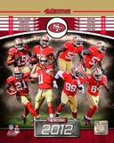 San Francisco 49ers 2012 Team Composite Photo