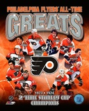 Philadelphia Flyers All-Time Greats Composite Photo