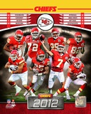 Kansas City Chiefs 2012 Team Composite Photo