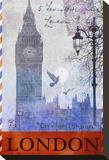 Big Ben Tower, London キャンバスプリント : クリス・ヴェスト