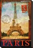 Paris Tour Eiffel Tower, Trocadero キャンバスプリント : クリス・ヴェスト