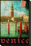 Venice, San Marco, Canale Grande Stretched Canvas Print by Chris Vest