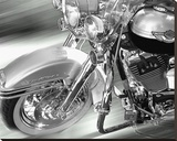 Road king Stretched Canvas Print by Richard James