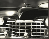 Legends Cadillac Stretched Canvas Print by Richard James