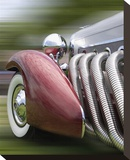 Duesenberg in Motion Stretched Canvas Print by Richard James