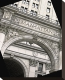 Imperial Manhattan Stretched Canvas Print by Richard James