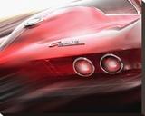 Corvette El Diablo キャンバスプリント : ジェームズ・リッカード