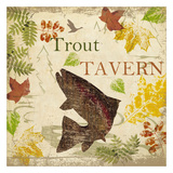 Trout Tavern Posters by Taylor Greene