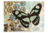 Butterfly Blues Art by Carole Stevens