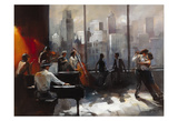 Abstract VI Poster by William Haenraets