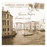 Vintage Venezia I Kunstdrucke von Carole Stevens