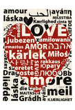 Love Languages Poster by Carole Stevens