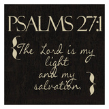 Psalms 27-1 Posters by Taylor Greene