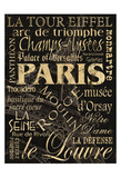 Paris Poster by Carole Stevens