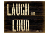 Laugh Affiches par Grace Pullen