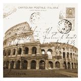 Carole Stevens - Vintage Roma - Poster