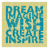 Dream Wish Posters par Carole Stevens