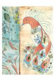 Peacock Print by Elizabeth Jordan