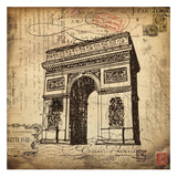 Eco Vintage Paris II Prints by Carole Stevens
