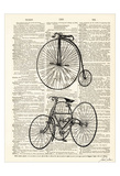 BikePage Posters by Tina Carlson