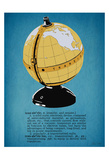 Globe Radio Posters by Tina Carlson