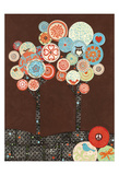 Groovy Grove II Prints by Margaret Reule