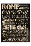 Rome Prints by Carole Stevens
