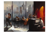 Abstract V Poster par William Haenraets