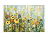 I'll Meet You For Martinis in the Poppy Garden Giclee Print by Jennifer Lommers