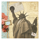 Lady Liberty Print by Carole Stevens