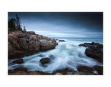 Dawn in Acadia Giclee Print by Michael Hudson