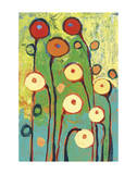 Poppy Celebration Giclee Print by Jennifer Lommers