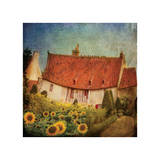 Gardenhouse Chenonceau Giclee Print by Dawne Polis