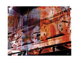 New York Color XXII Reproduction procédé giclée par Sven Pfrommer