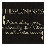 1 Thessalonians 5-16 Posters by Taylor Greene