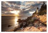 Bass Harbor Lighthouse Poster von Michael Hudson