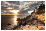 Bass Harbor Lighthouse Print by Michael Hudson