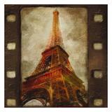 Eiffel Tower Print by Taylor Greene
