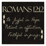Romans 12-12 Posters by Taylor Greene