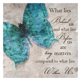 Mariposa azul I Lámina por Taylor Greene