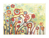 The Garden of My Dreams Giclee Print by Jennifer Lommers