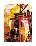 New York Color VI Giclee Print by Sven Pfrommer