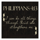 Philippians 4-13 Poster by Taylor Greene