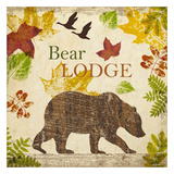 Bear Lodge Poster by Taylor Greene