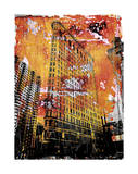 New York Color V Giclee Print by Sven Pfrommer