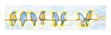 Eight Little Bluebirds Wydruk giclee autor Jennifer Lommers