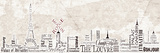 Paris Skyline Prints by Diane Stimson