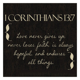 1 Corinthians 13-7 Prints by Taylor Greene